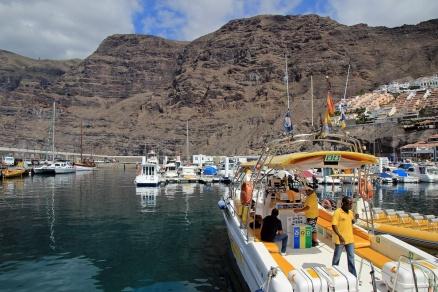 Schickes Taxiboot
