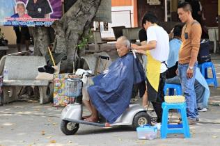 Outdoor Friseur