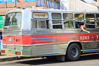 Der Bus zum Pass