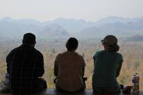 Burma Berg Blick
