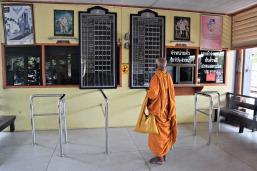 Mönch auf Reisen