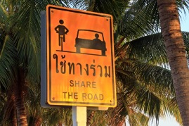 Radeln in Thailand scheint zunehmend beliebter zu werden