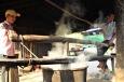 Nudelmacher bei der Arbeit