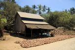 Kokosnussverarbeitung unterwegs