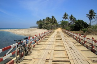 Letzte Brücke vor Sinma
