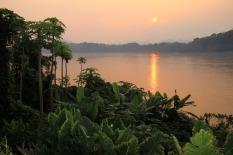 Feierabend am Mekong