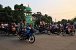 Feierabendverkehr in Bago