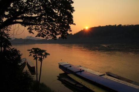 Geschafft: Luang Prabang