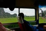 Busfahrt Chiang Rai - Chaing Khong