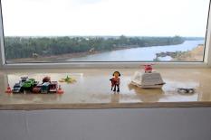 Geschafft: Die Playmobil Fraktion fühlt sich wohl in Vietnam