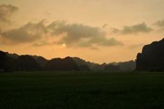 Tam Coc Sunset