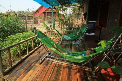 Relaxen auf der Terrasse