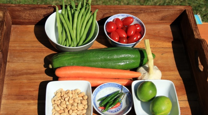 Scharfe Sache: Som Tam Papaya Salat