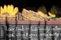 "Slow Food im Homemade ""Restaurant"""