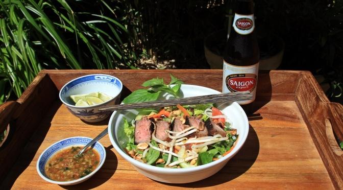 Von Vietnam nach NRW: Reisnudelsalat à la TiMaFe