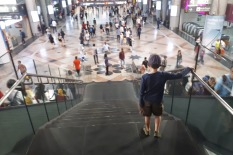 Mittendrin: Bahnhof KL Sentral