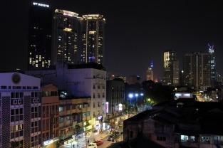 KL Bei Nacht: Aussicht vom M&M Hotel