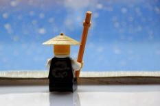 Sensei Wu behält auch bei tropischen Schauern die Ruhe